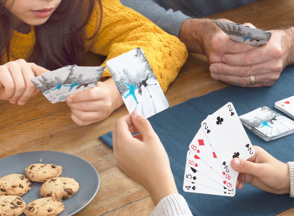 Jeu de cartes personnalisé