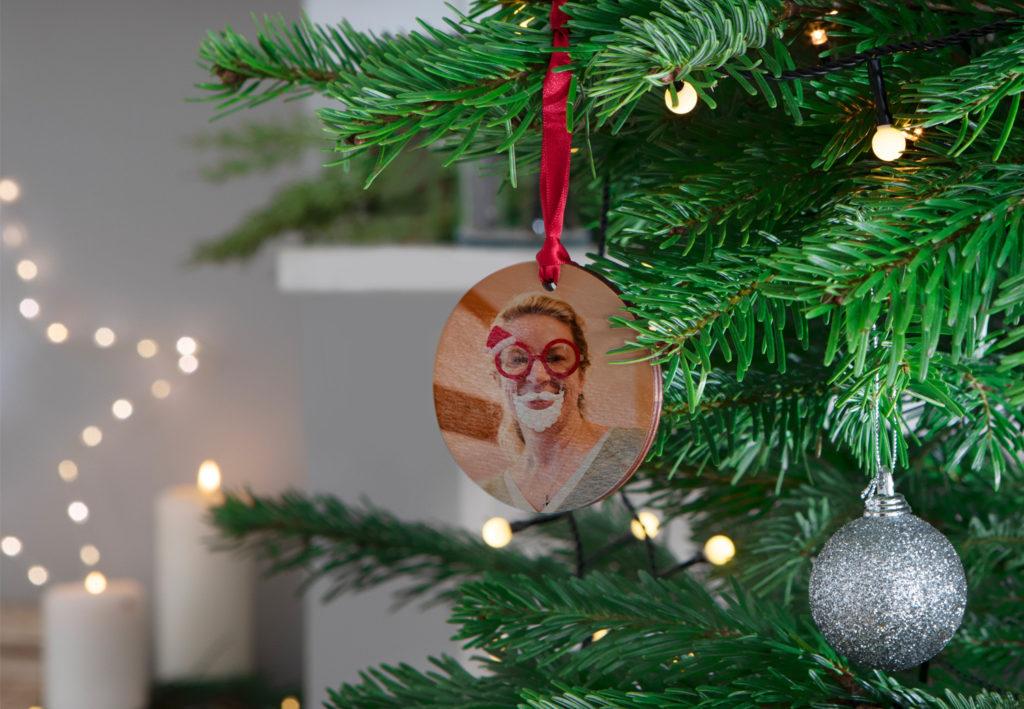 Décoration de Noël en bois personnalisée
