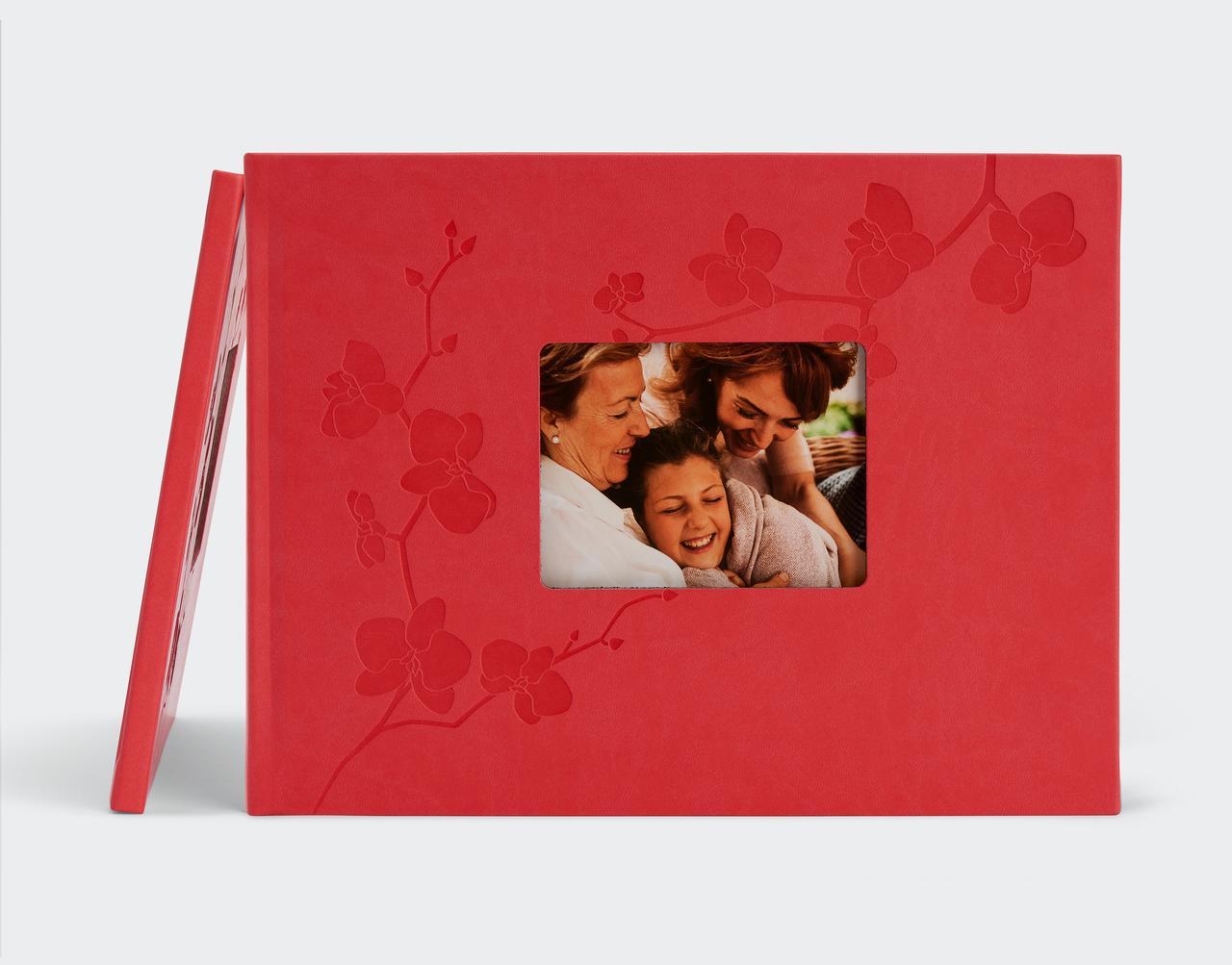 Un album de famille cadeaux de Noël