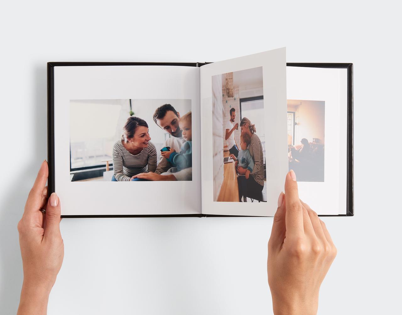 Cadeaux de Noël livre photo de bébé