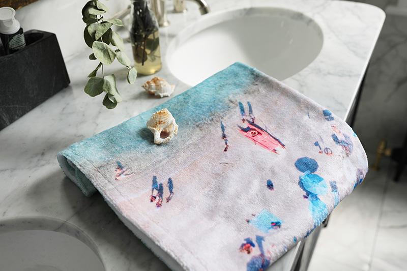 serviette personnalisée cadeaux pour Noël